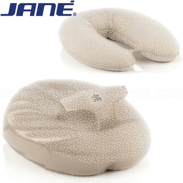 Jane Възглавница за бременни и кърмене Bowi бежова 050289.T05 - възглавници за бременни